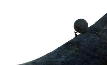 uphill climb, sustainable development goals
