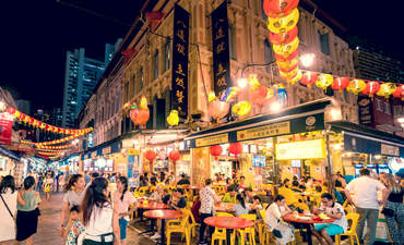 Singapore night market
