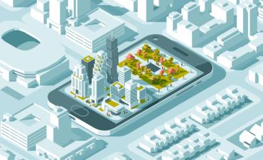 smart city on phone