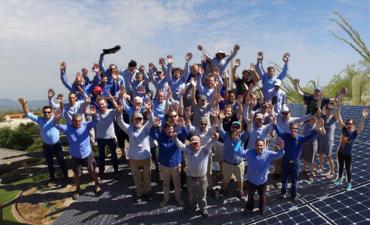 solar tfc team on solar panels