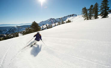 Squaw Valley Alpine Meadows is switching to 100 percent renewable energy, with battery storage.