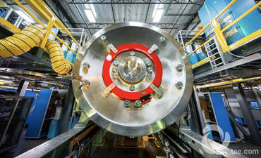 TAE Technologies' nuclear fusion reactor technology.