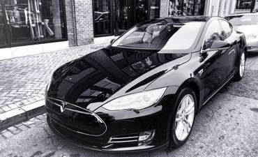 Tesla electric vehicles luxury cars