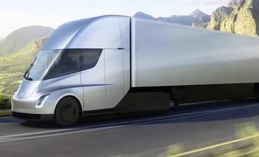 Tesla's electric semi-truck