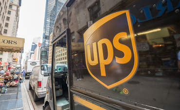 UPS truck in New York