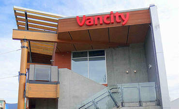Lynn Valley Village branch of Vancity Credit Union in North Vancouver, BC, Canada