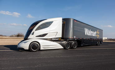 Walmart's new more sustainable truck