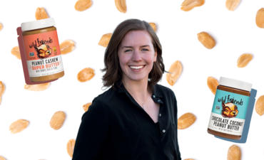Wild Friends' founder with nut butter
