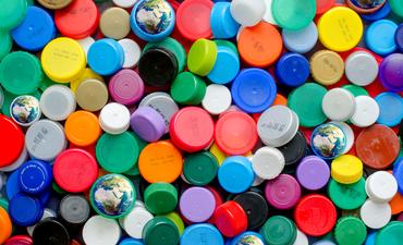 plastic bottle caps