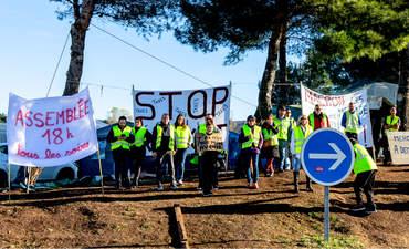 yellow vest demonstration