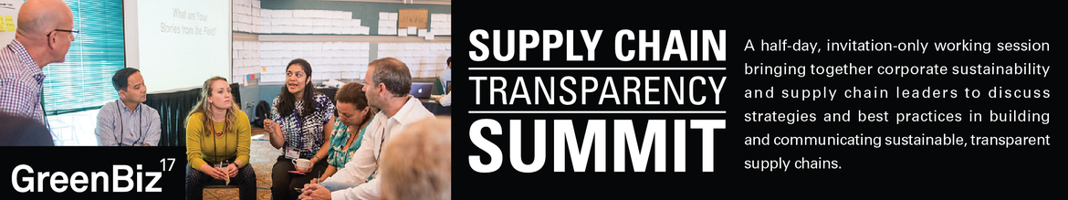 GreenBiz 17 Supply Chain Transparency Summit