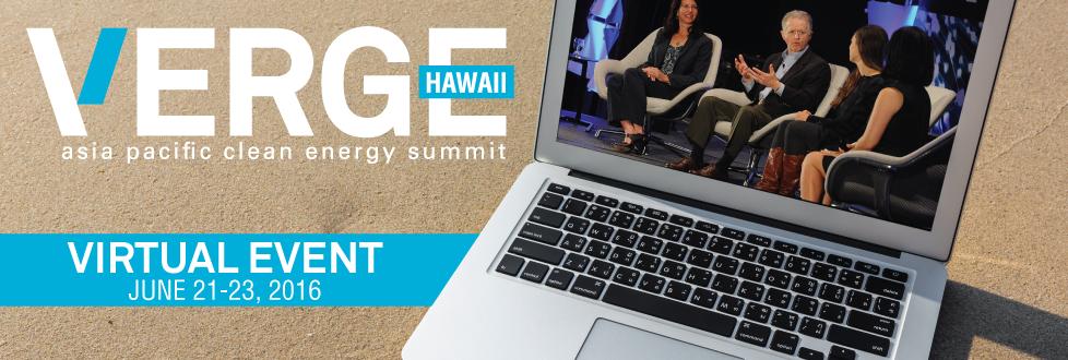 VERGE Hawaii 2016 Virtual Event