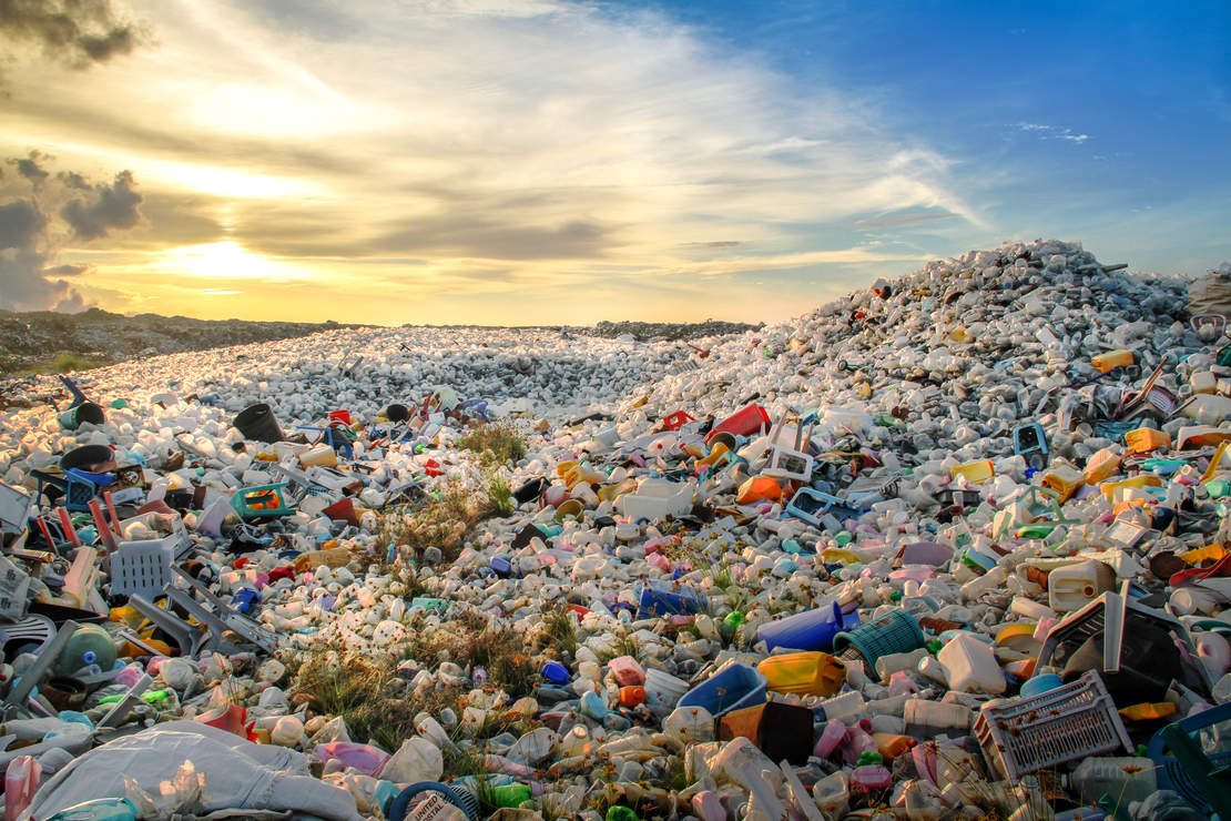 plastics, plastic, landfill