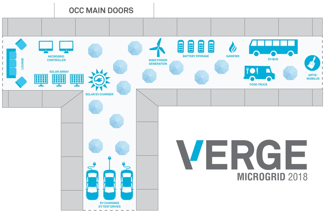 VERGE 18 Microgrid Layout