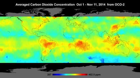 NASA Carbon Dioxide