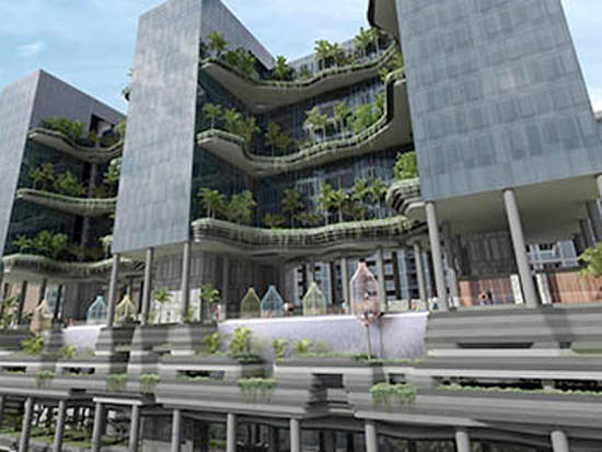 Singapore takes the lead on green building in asia greenbiz for Green building articles
