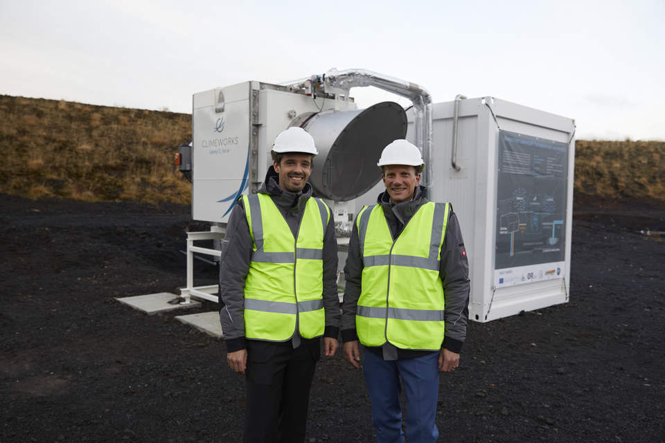 This testbed in Iceland sucks carbon dioxide out of the air