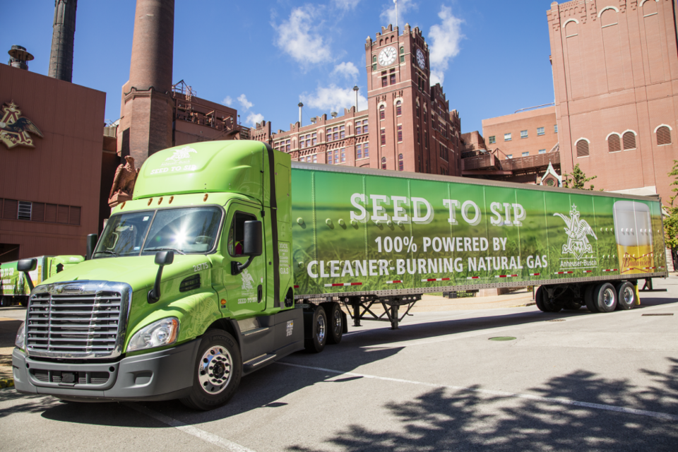 photo of How Anheuser-Busch plans to sustainably ship cold beer around the USA image