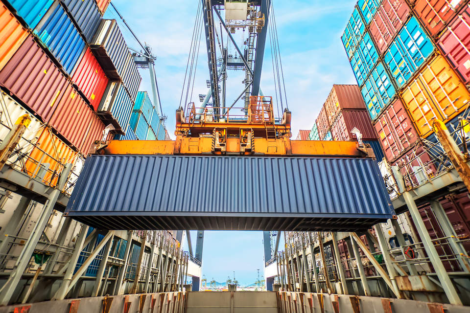 40 Shipping Container >> The future of freight: More shipping, less emissions ...