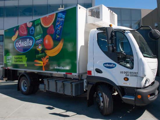 Fleet Truck Sales >> Coca-Cola launches first electric refrigerated truck fleet | GreenBiz