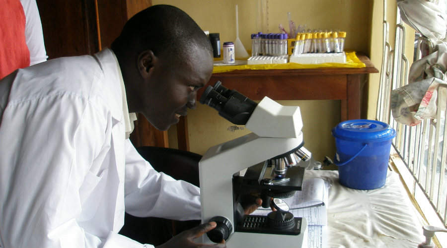AMREF Health Africa trains a health professional