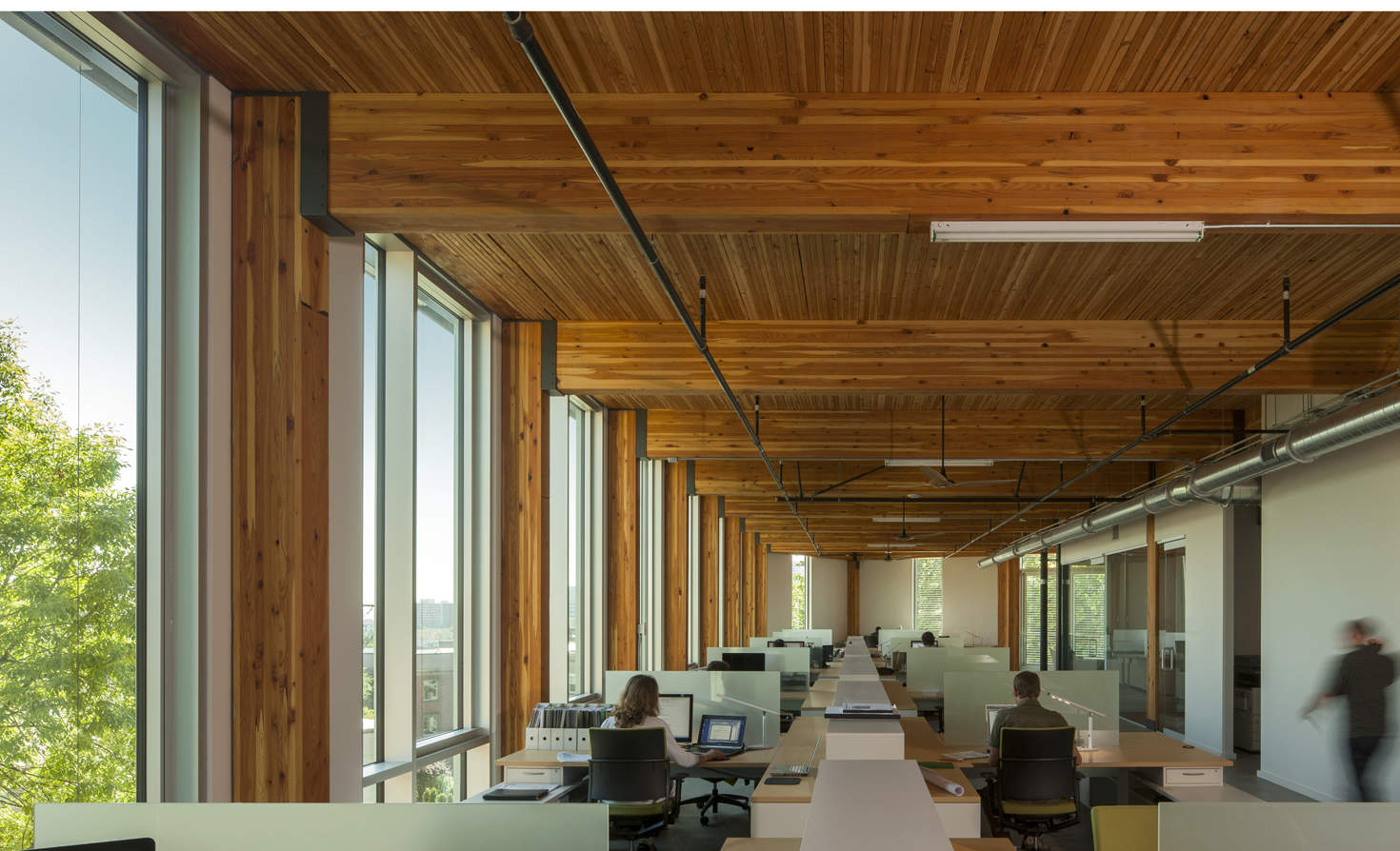 Bullitt Center interior