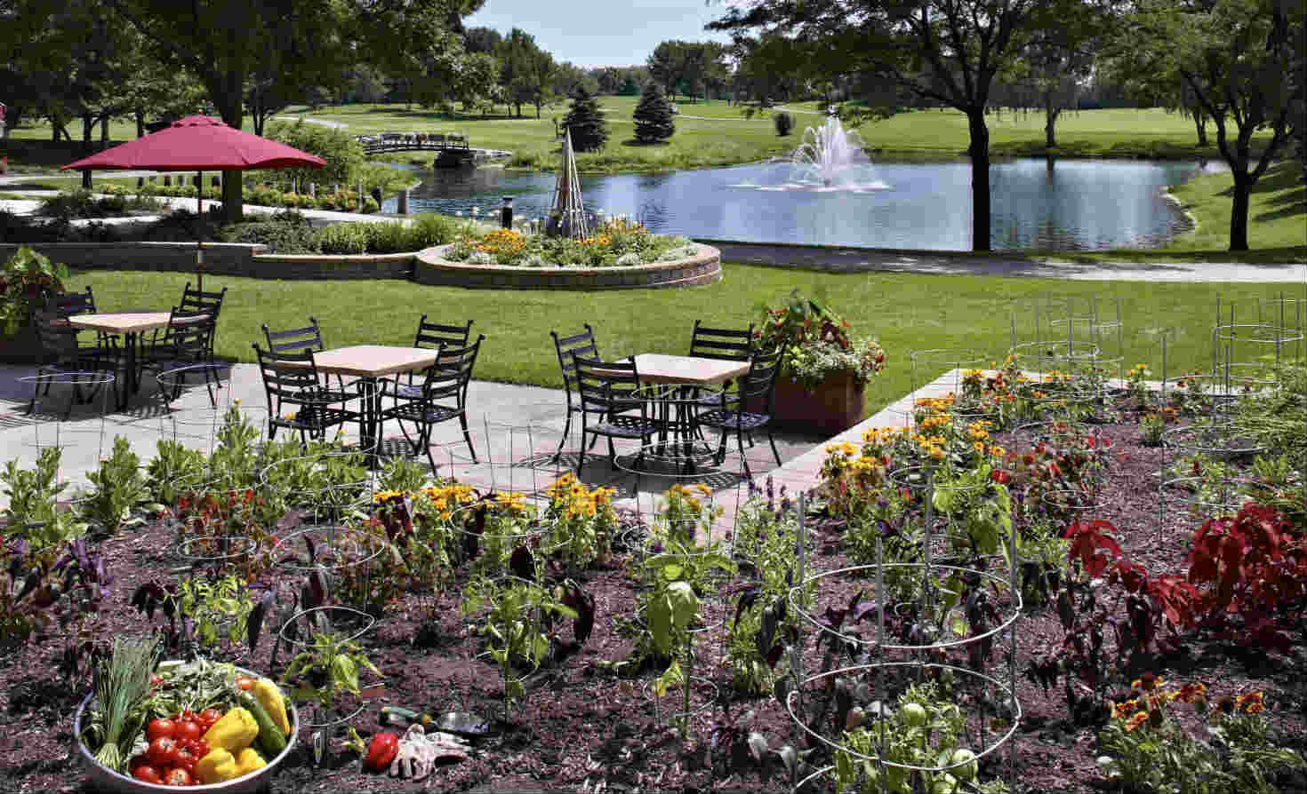 Chef's garden at Hilton Chicago/Oak Brook Hills Resort & Conference Center