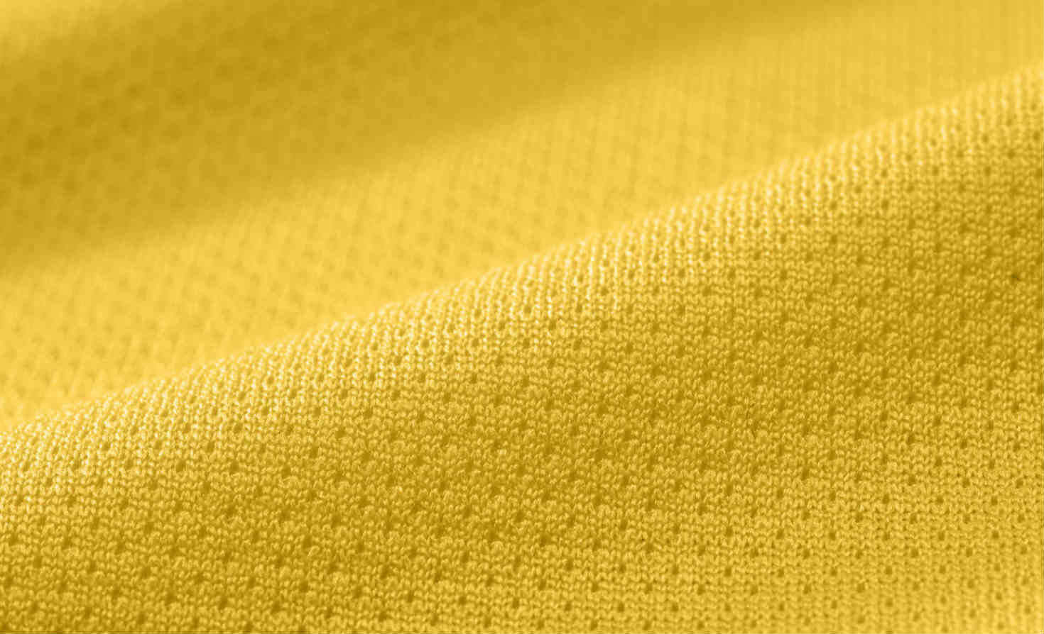 Closeup of Nike Colordry polo fabric