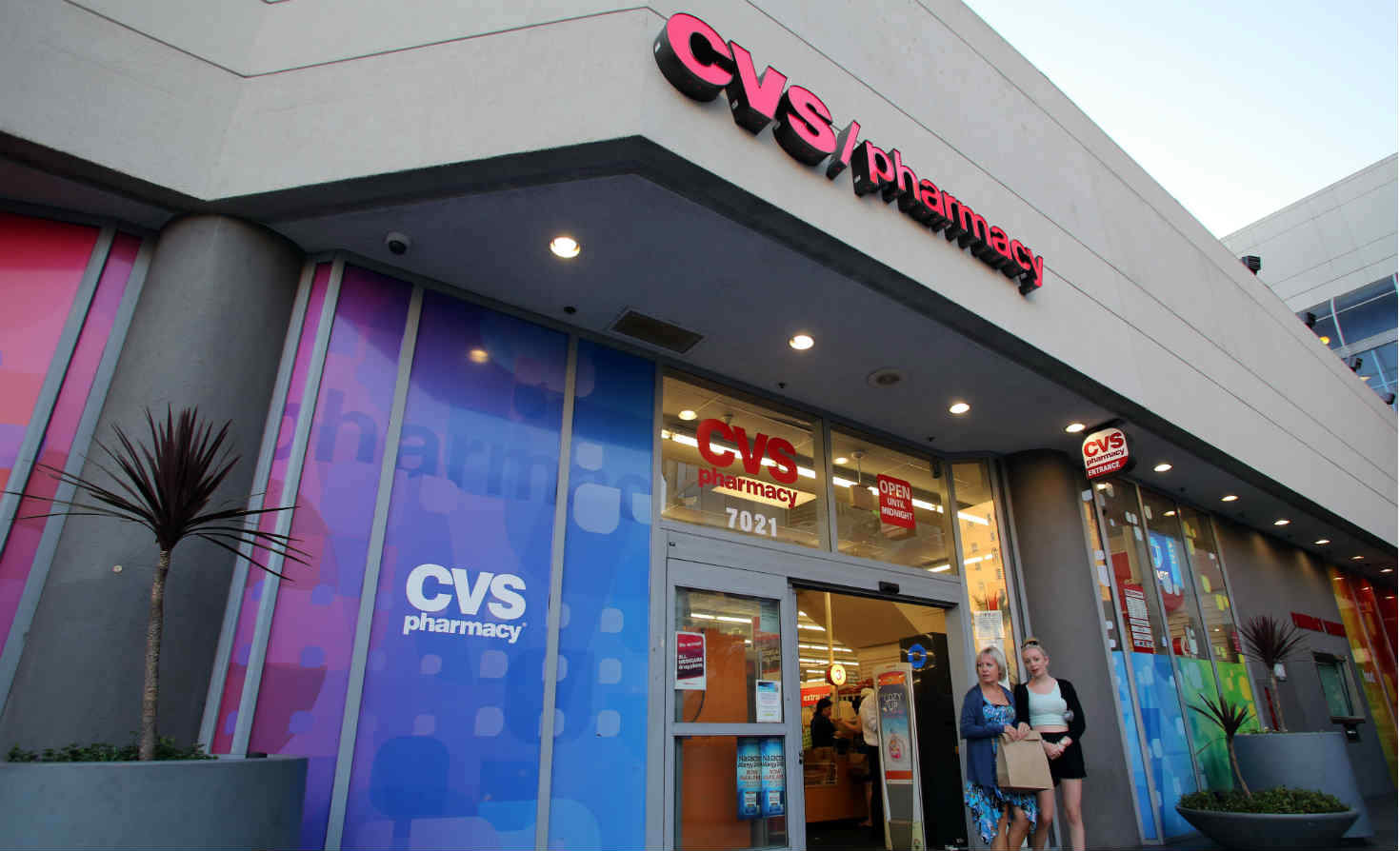 CVS store in North Hollywood, California