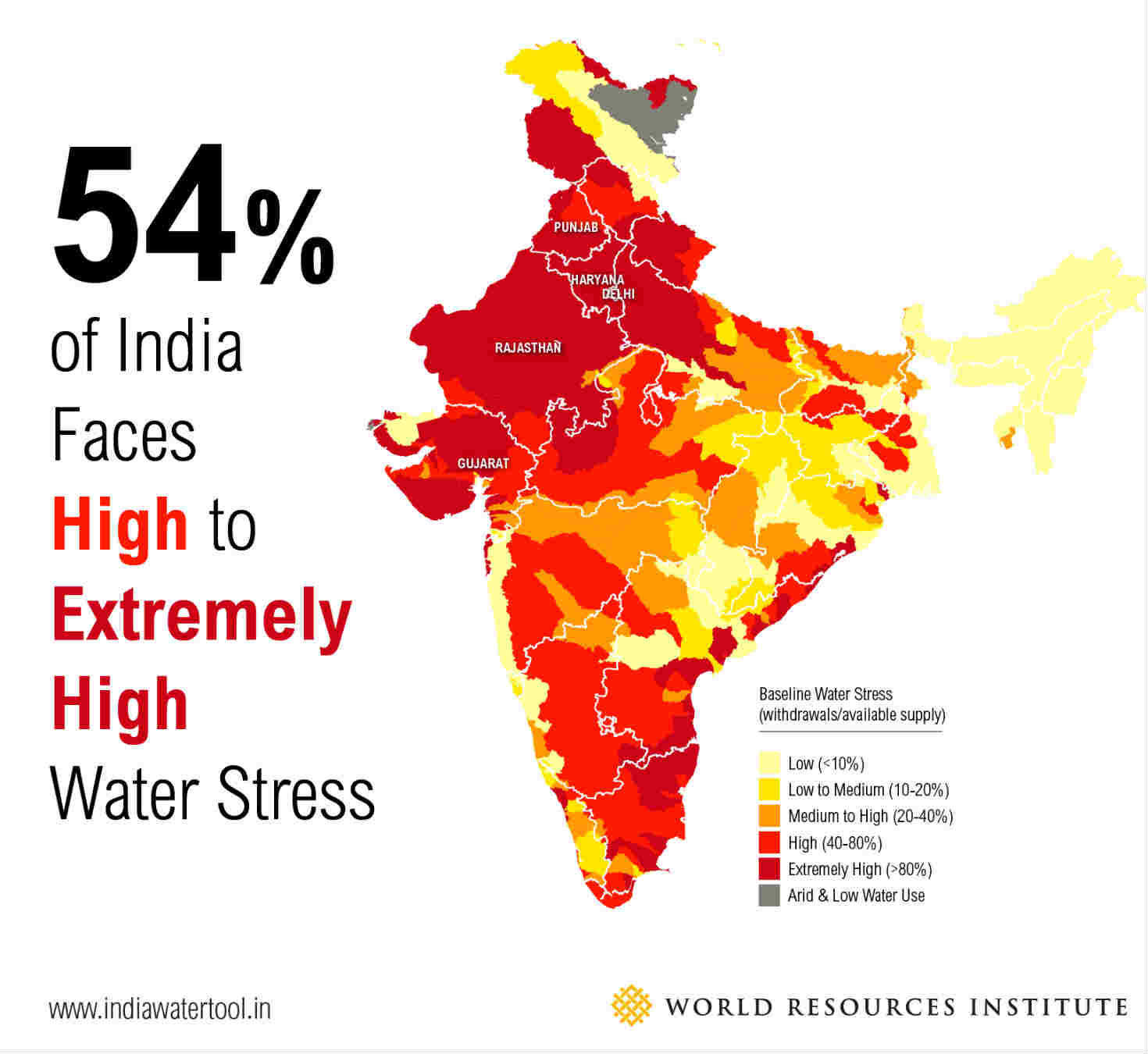 Maps Explain Indias Growing Water Risks GreenBiz - Us water scarcity map