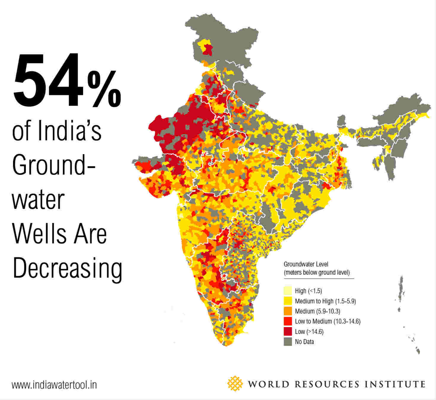 3 Maps Explain India S Growing Water Risks Greenbiz