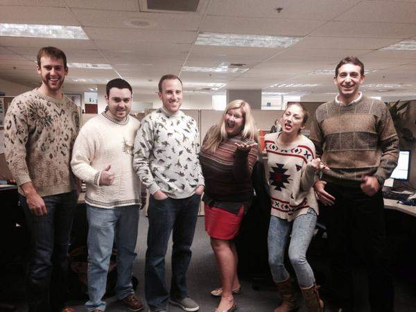 Legrand North America energy savings ugly sweaters