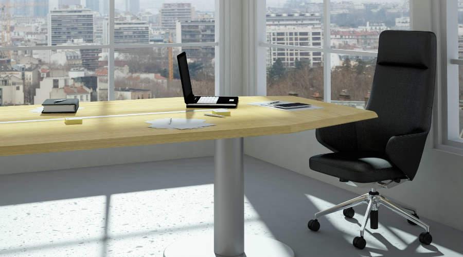 Sunlit office