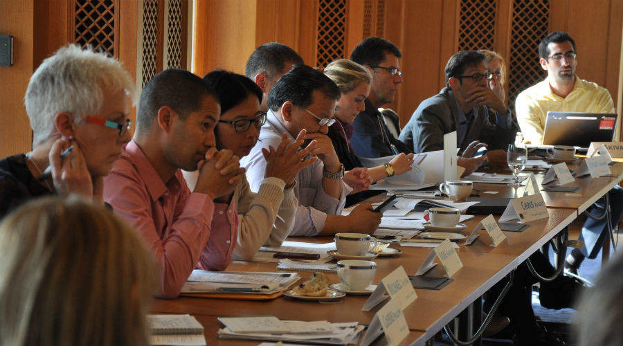 Representatives from varied organizations meet to discuss deforestation