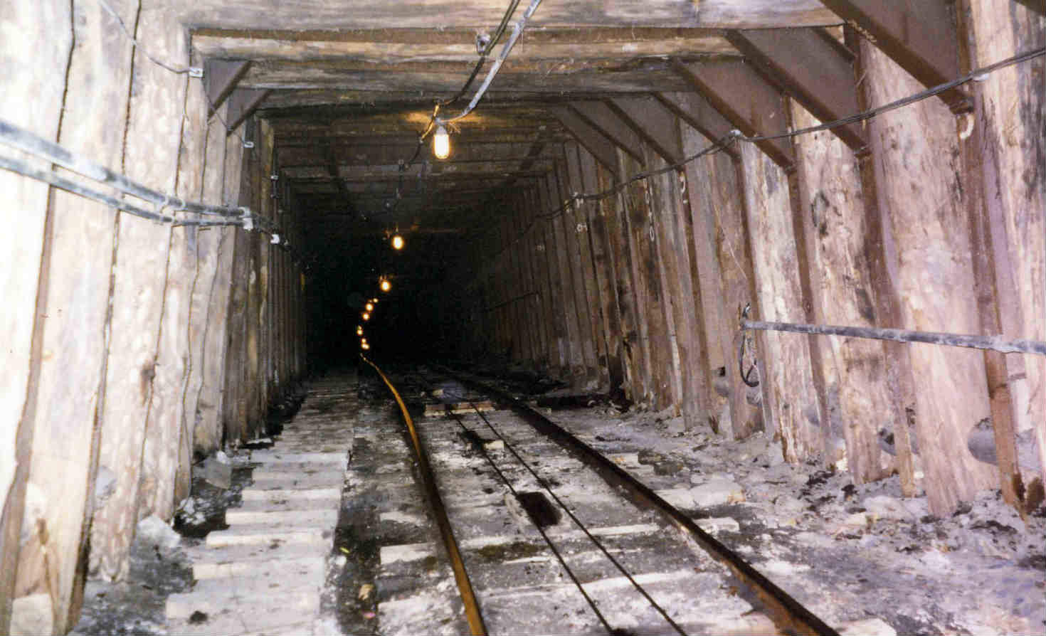 Lackawanna coal mine in Scranton, Pennsylvania