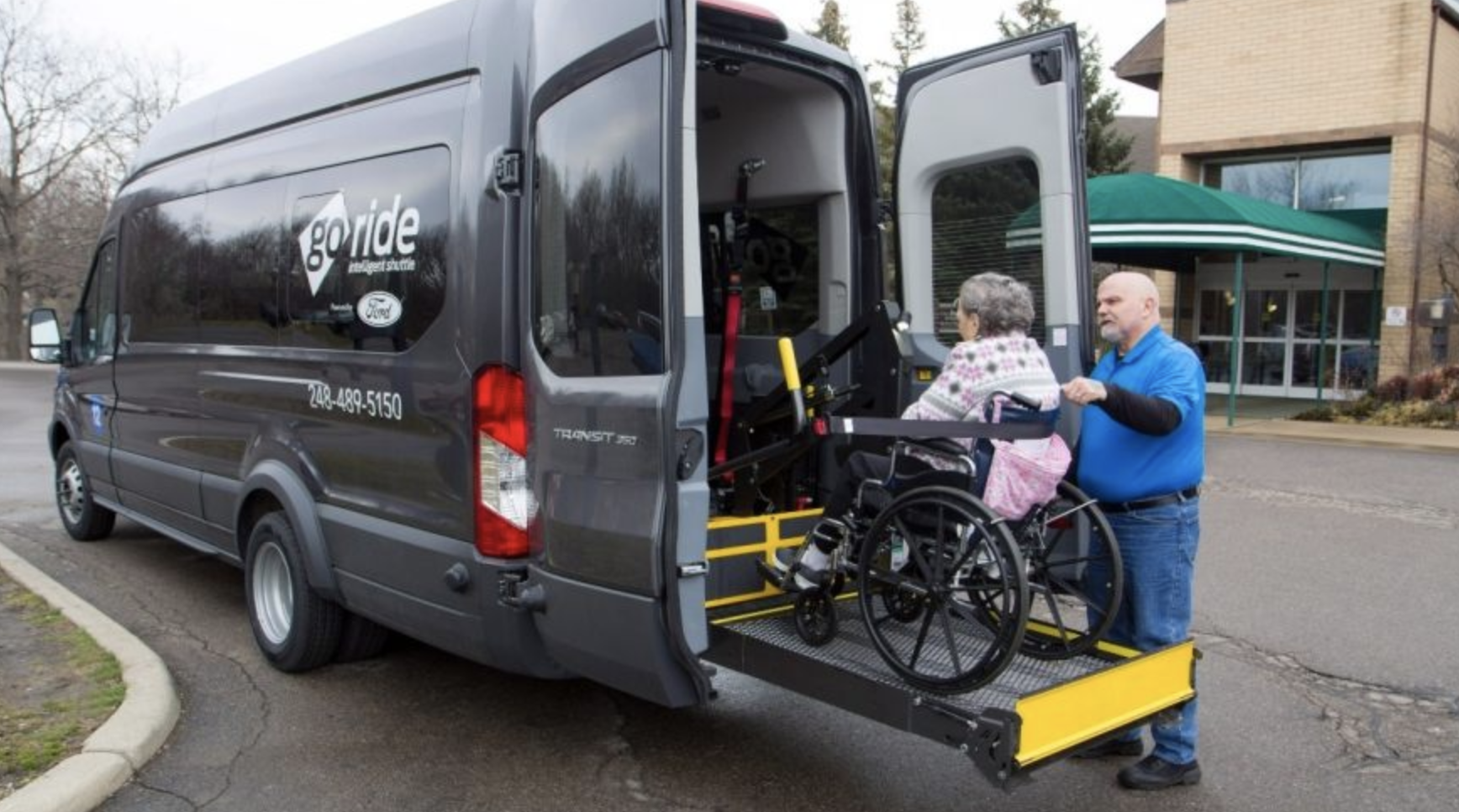 Ford launches GoRide, an on-demand medical transportation service.