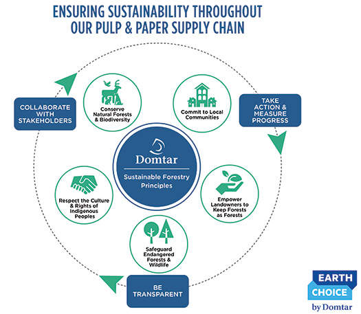 Domtar's Sustainable Forestry Principles