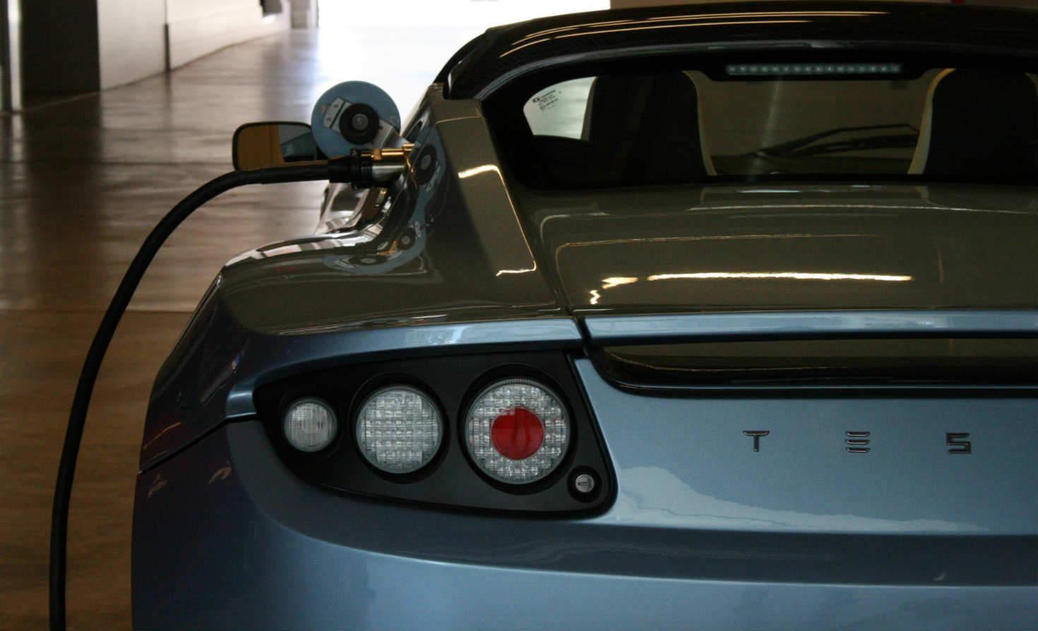 Tesla charging