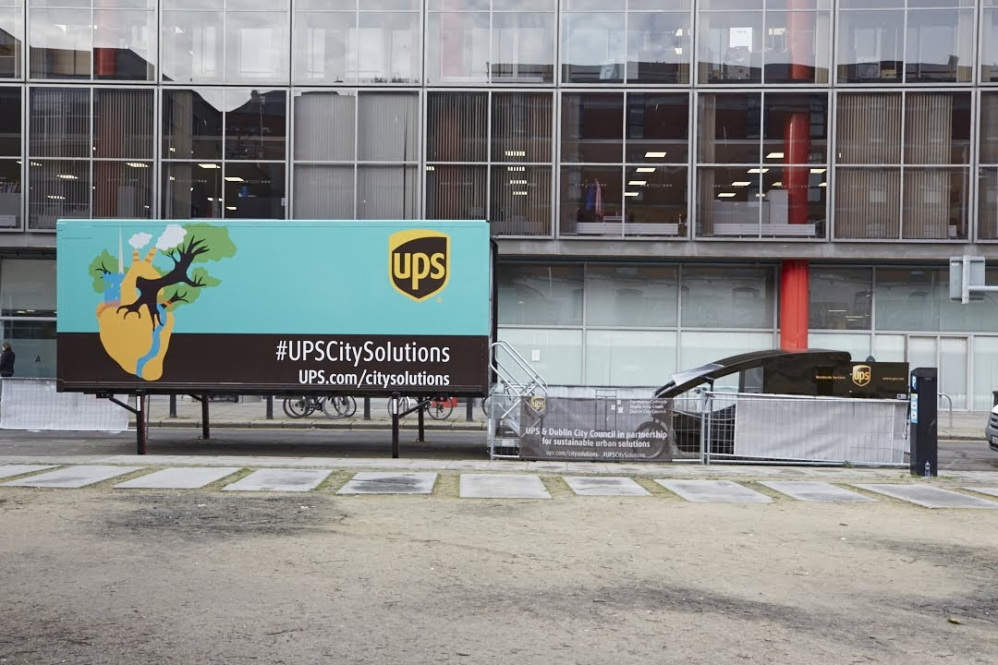 UPS Eco Hub in Dublin