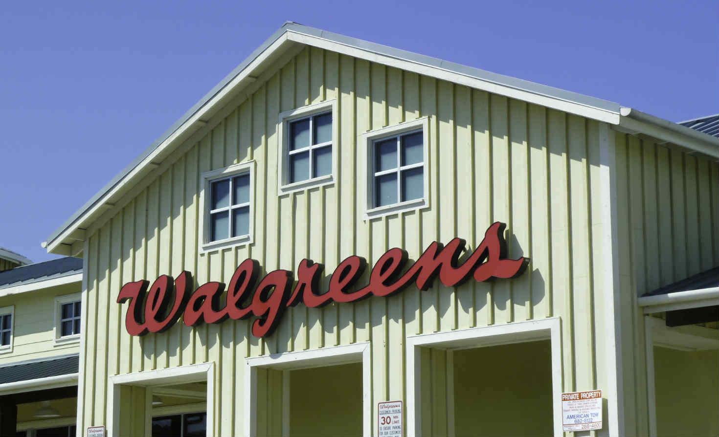 Walgreens store in Pleasant Hill, California