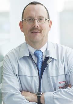 Toyota's Steve Hope