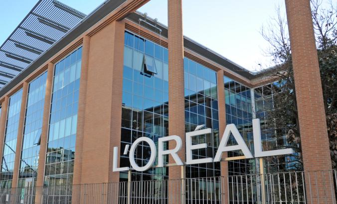 L'Oréal office in Milan, Italy
