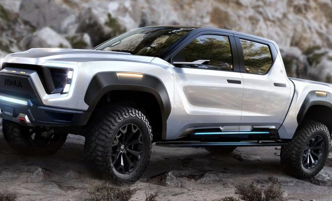Nikola Motors electric pickup truck the Badger