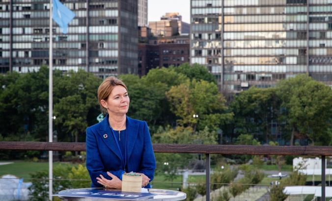 Lise Kingo, UN Global Compact