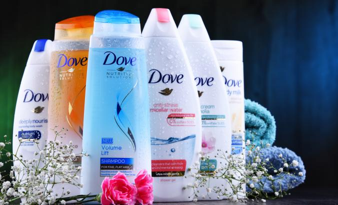 Unilever products, Dove brand