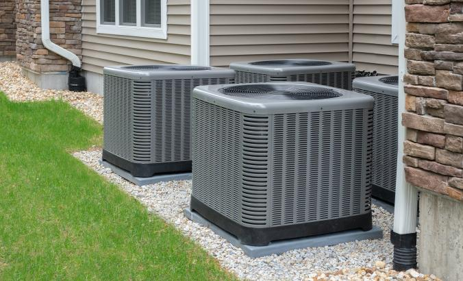 Residential heat humps or air conditioners