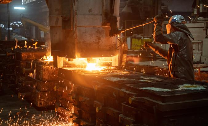 The energy used for steel casting process is immense