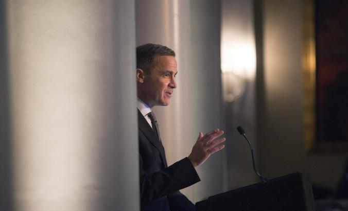 Mark Carney, former Bank of England governor, at the Scottish Council for Development & Industry in Edinburgh.