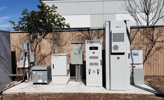 Equipment from Gridscape, one of several companies developing modular microgrids.