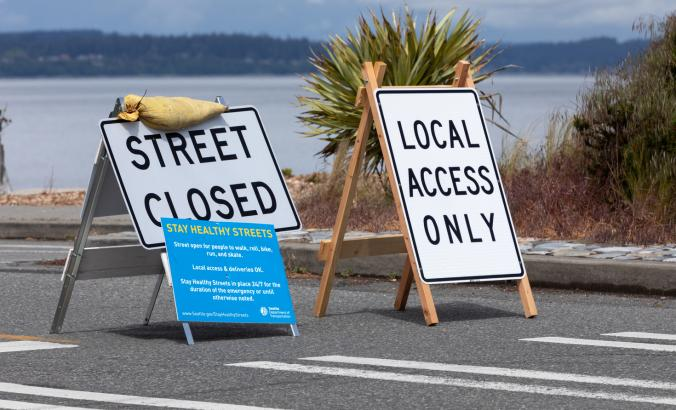 In May, some closures that started with Seattle Healthy Streets became permanent.
